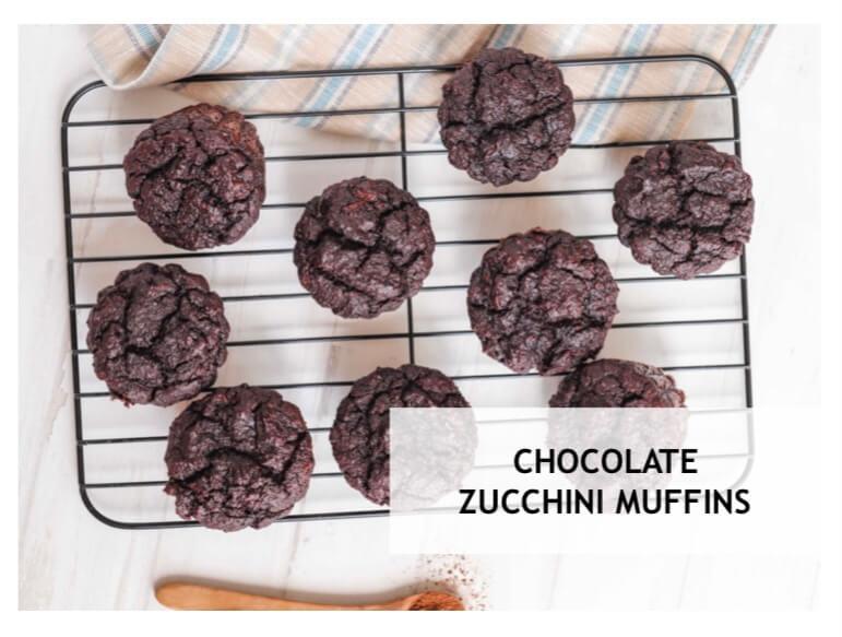 Chocolate… Zucchini… Muffins