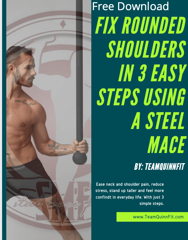 3 Easy Steps to Fix Rounded Shoulders with a Steel Mace: Part 2